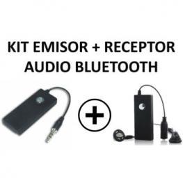 Kit Emisor y Receptor Audio Bluetooth Jack 3.5