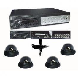 Kit Grabador Videovigilancia 16 Camaras+16Cam.Domo