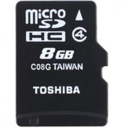Memoria Microsdhc C4 8Gb Toshiba + Adaptador