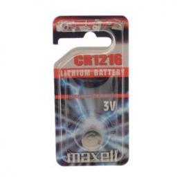 Pila Boton Cr1216 3V Maxell