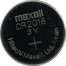 Pila Boton Cr2016 Lithium 3V Maxell