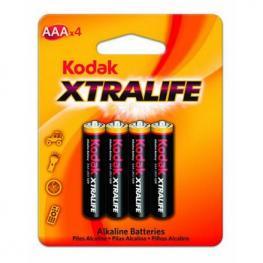 Pilas Alcalinas Kodak Lr03 Aaa Blister Pack-4
