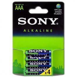 Pilas Alcalinas Sony Lr03 Aaa Blister Pack-4