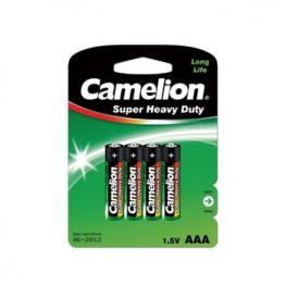 Pilas Salina Camelion R03 Aaa Blister Pack-4