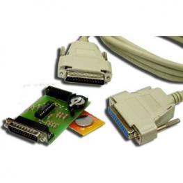 Programador Jtag Satycon + Pila Boton+Cable Parale