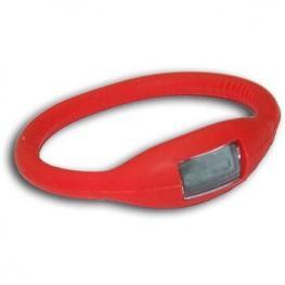 Pulsera Reloj Iones Silicona Color Roja