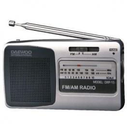 Radio Am/fm Daewoo Drp-15 Con Altavoz