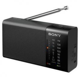 Radio Portatil Sony Icf-P36 Am/fm Altavoz y Auric.