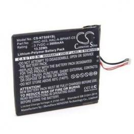 Repuesto - Bateria Nintendo Switch 3.600Mah 5Pin