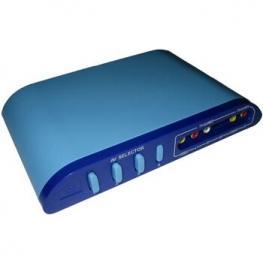 Selector Av 4 Dispositivos (Rca)