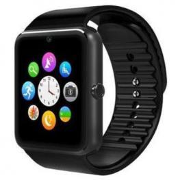 Smartwatch Gt08 Sim Sd Bluetooth Bt Negro