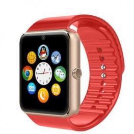 Smartwatch Gt08 Sim Sd Bluetooth Bt Rojo