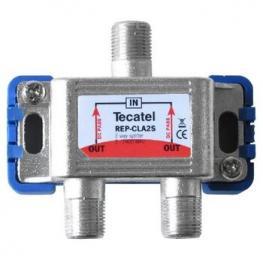 Splitter Tv-Sat 1 Entrada 2 Salidas 5-2400Mhz Teca