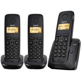 Telefono Inalambrico Siemens A120 Trio Negro
