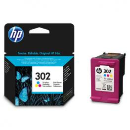 Tinta Color Hp Nº. 302 Original F6U65Ae
