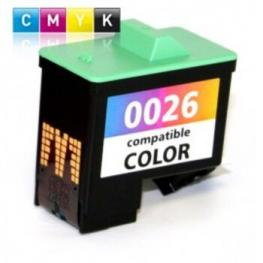 Tinta Color Lexmark Lx26 Reciclada
