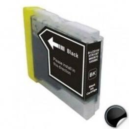 Tinta Negra Brother Lc980Bk/lc1100Bk Reciclada