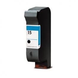 Tinta Negra Hp Nº. 15 Reciclada