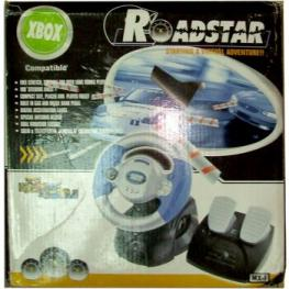Volante Roadstar Compatible Con Xbox