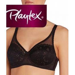 Playtex Sujetador-Encaje-C/aros P010A C.Negro T.110-C