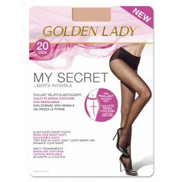 Golden Lady My Secret 20 C. Negro T. Xl