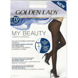 Golden Lady Pantys 70Den My Beauty C.Negro T-Xl