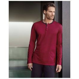 Impetus 4531C45 Pijama M/larga P/largo Rojo