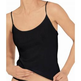 Janira Camiseta Tirante Fino Denis 104025 Negro T.M