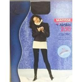 Levante Calze Pantys Termicos Matisse 250Denairskin C.Negro T.3