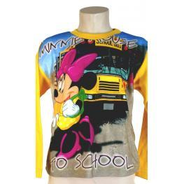 Massana Disney Pijama Niña M/larga Cuello Redondo Minnie D571105 C.E63 Amarillo T.6