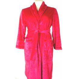 Lohe Bata Mujer Franell Con Terciopelo Roja Y141324 T.50