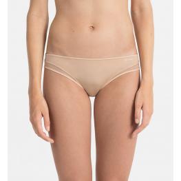 Calvin Klein Tanga Mujer Qf1666E-101 Ivory T.S