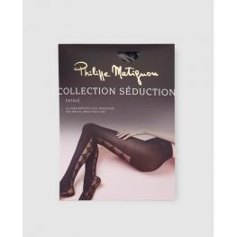 Philippe Matignon Panty Fantasía M115464  Fatale  Negro T.M