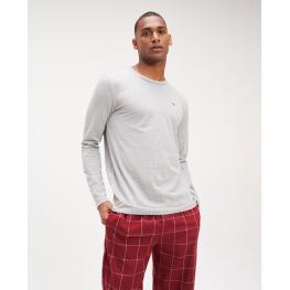 Tommy Hilfiger Pijama  Hombre M/l Um0Um01601  C.Gris/grana T.L