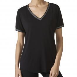 Janira Cta.M/c Loo.Trendy Silver-Modal Negro T.L