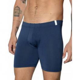 Impetus Boxer Largo Cotton Modal 1239022 Azul M. T.Xl