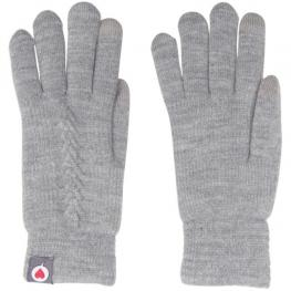Soxland Guantes Mujer 8101.002 Gris Trenza T.U