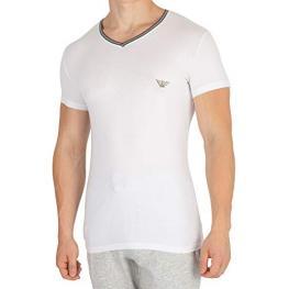 Emporio Armani Cta. V Neck T-Shirt S/sleeve 110810 Blanco T.M