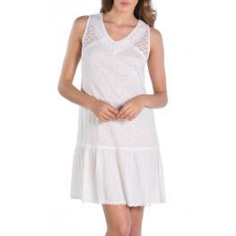 Dolores  Cortes  Vestido  Blanco  1696 T.S/42