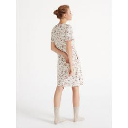 Promise Camison Mujer M/c Modal N08001 Crudo/flores T.52/xxl