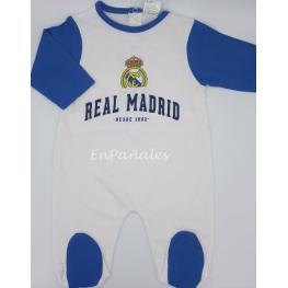Real Madrid Pelele Bebé Rmf 150 C.Bl/az  T.18M