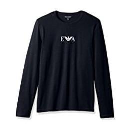 Emporio Armani Camiseta M/l 111653 8A720 00135 Marine T.L/g