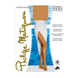 Philippe Matignon Media Bas-Jarretiere Oro 15 Den. C.Playa Nature T.M