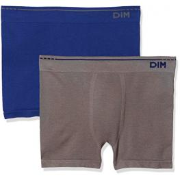 Dim Boxer Sin Costuras Cotton Pack2 Ad005Hf Az/gr T.5/xl