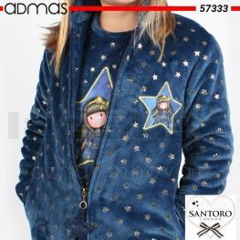 Santoro Bata Niña 57333-0 Azul T.12