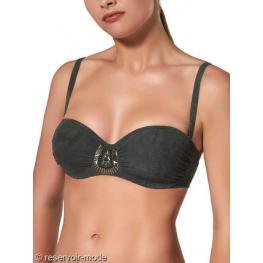 Ory Bikini Completo Y181146C  C/aros C/foam Verde T.48/105 C
