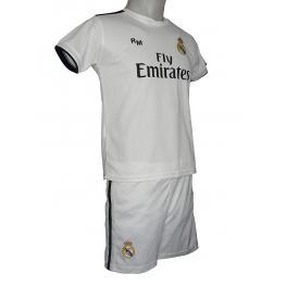 Real Madrid Pijama Niño M/c Rm 255N  Blanco T.16