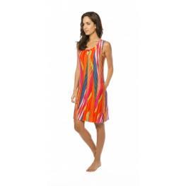 Lohe Vestido Estamp S/m V188460 Colores T.M