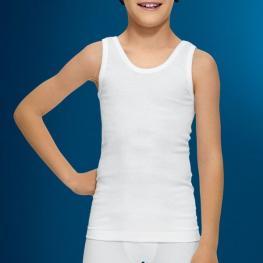 Abanderado Cta. Tirantes Niño Blanco T.12
