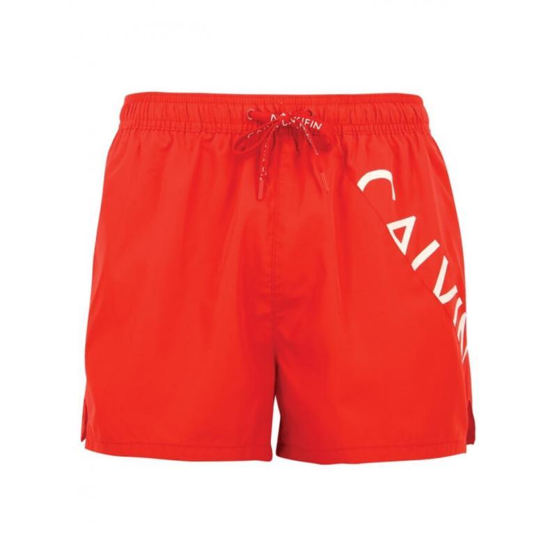Calvin Klein Bañador Hombre Km0Km00162 622 Rojo Short Draws T.S